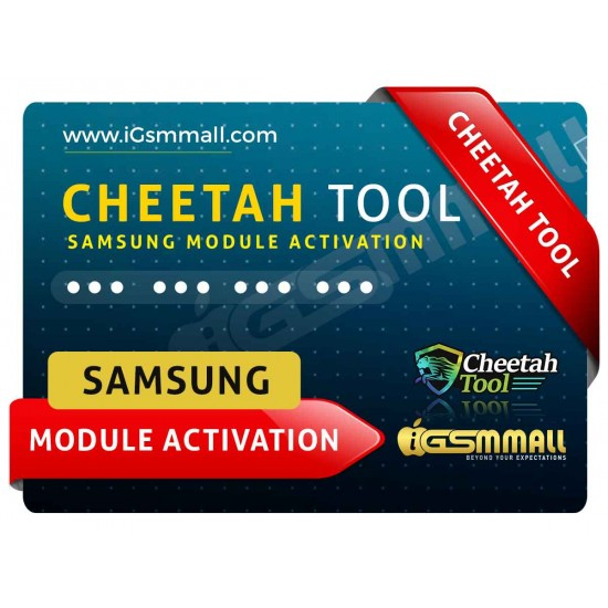 Cheetah Tool Samsung Module Activation