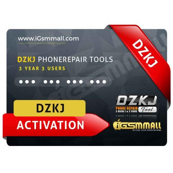 DZKJ PhoneRepair Tools 3 Year 3 Users