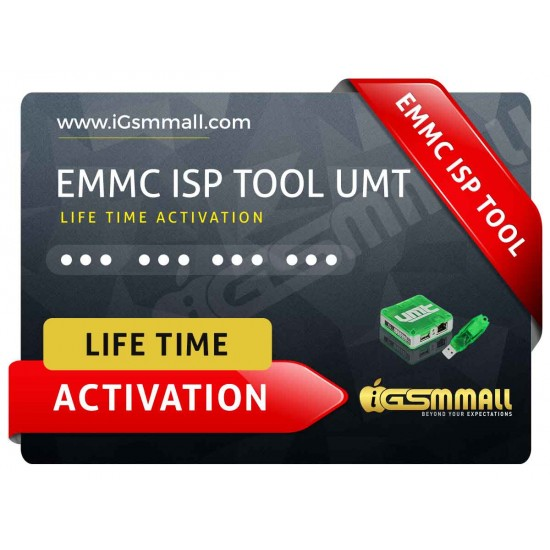 UMT Emmc ISP Tool Activation