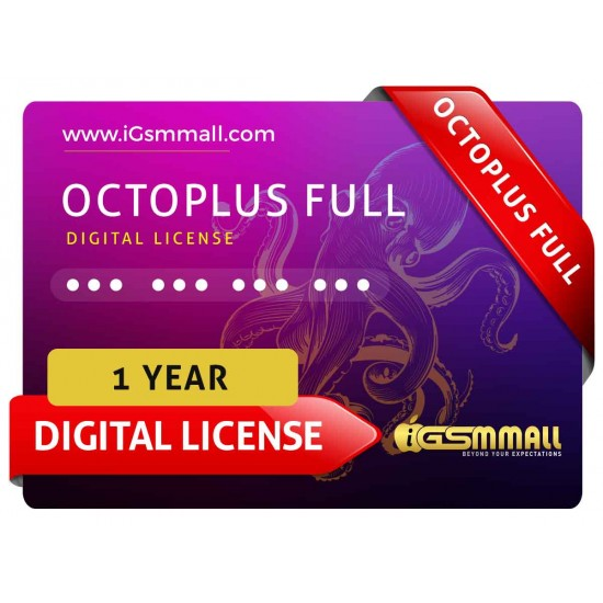 Octoplus Full 1 Year Digital License