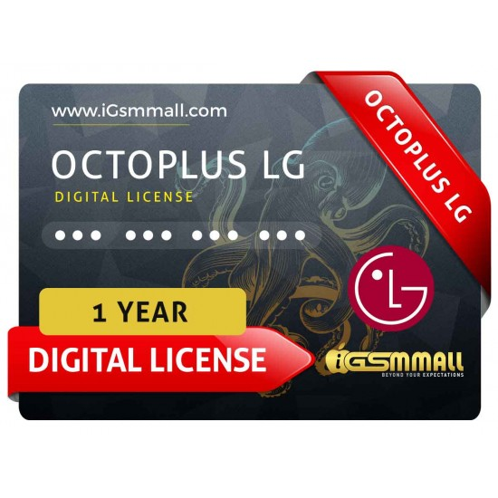 Octoplus LG 1 Year Digital License