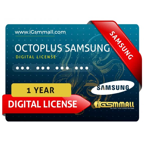 Octoplus Samsung 1 Year Digital License