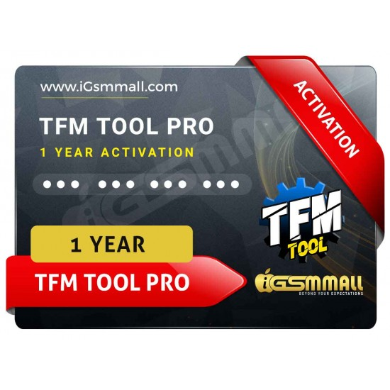 TFM Tool Pro Activation (1 Year)