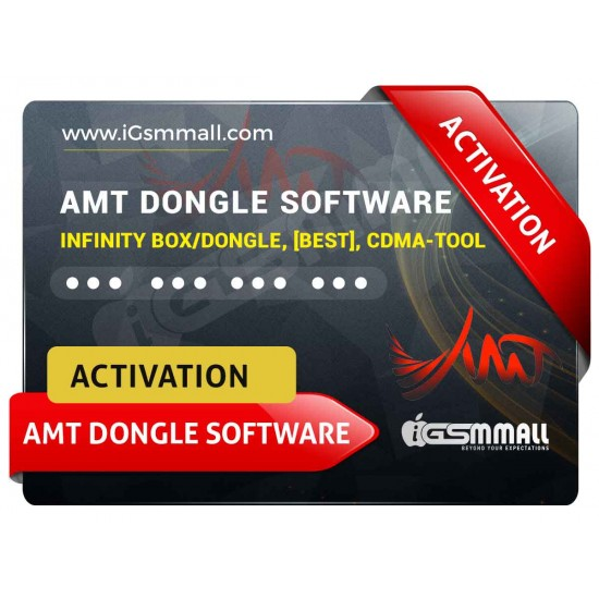 AMT DONGLE SOFTWARE ACTIVATION FOR INFINITY BOX/DONGLE, [BEST], CDMA-TOOL