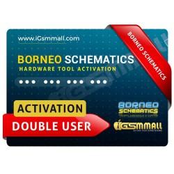 Borneo Schematics Hardware Tool Activation Double User Code Instant