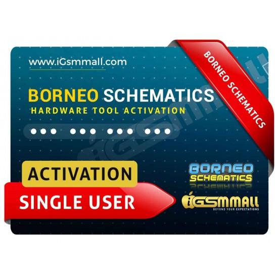 Borneo Schematics Single User Hardware Tool Activation Code Instant