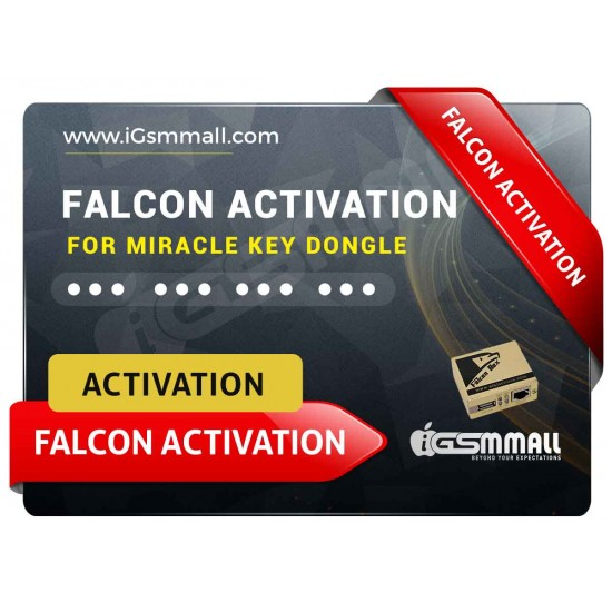 Falcon Activation for Miracle Key Dongle