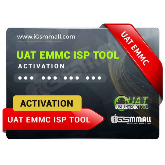 UAT EMMC ISP Tool Activation