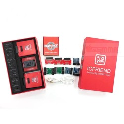 Easy Jtag Plus Box Red Edition with IC Friend 13 in 1