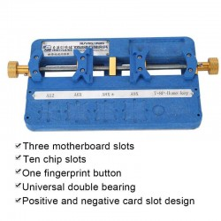 MECHANIC MR6 UNIVERSAL DOUBLE BEARING PCB FIXTURE