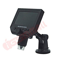 Microware Digital Microscope 4.3 Inch Hd 3.6Mp 1-600X Magnifier G600 Portable LCD 1080P UK Plug